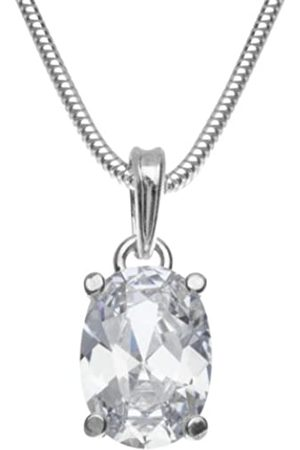 InCollections 241A201692340 Cubic Zirconia Sterling 925 Pendant