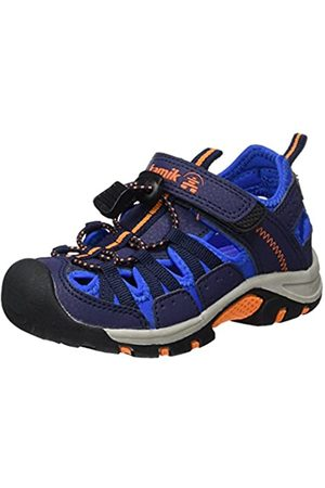 Kamik Boys' Wildcat Closed Toe Sandals, (Navy/Marine NAV)