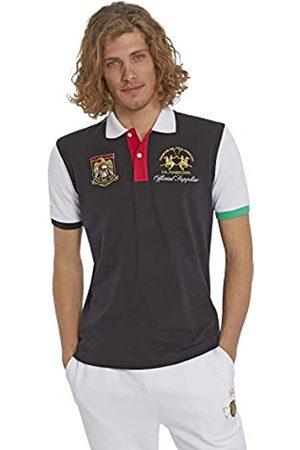 La Martina Men's Pmp318 Polo Shirt