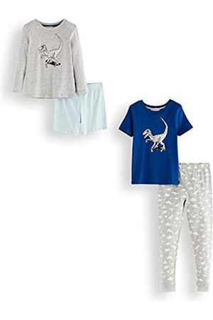 RED WAGON Amazon Brand - Boy's Cotton Pyjama Set, Pack of 2, 4 Years