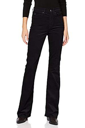 7 for all Mankind Women's Mantel, Wolloptik, Revers, Langarm Bootcut Jeans