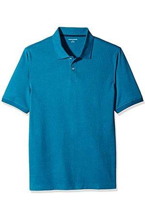 Amazon Essentials Regular-Fit Cotton Pique Polo Shirt Dark Teal