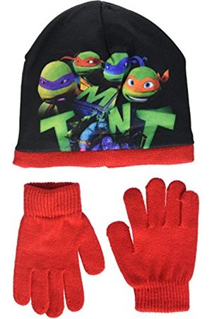 Nickelodeon Boy's Ninja Tortlues Tmnt Hat and Glove Set