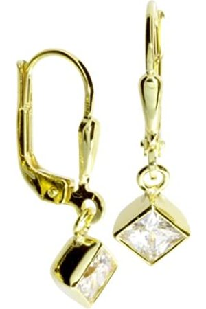 InCollections Women's and Children's Earrings 333/000 Gold with Zirconia 0010160109401