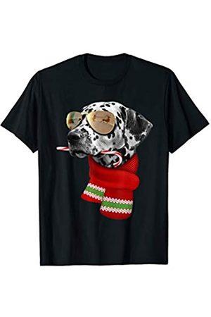 Mens Womens Short Sleeves Smily Reindeer Red Nose Ear Christmas Tee Top T Shirt