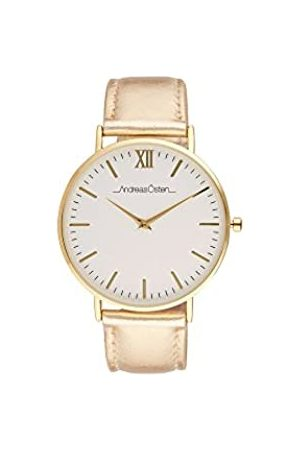 Andreas Osten Unisex-Adult Analogue Classic Quartz Watch with Leather Strap AO-188