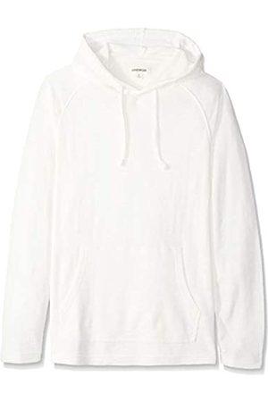 Goodthreads Amazon Brand - Men's Long-sleeve Slub Thermal Pullover Hoodie T-Shirt, (ivory)