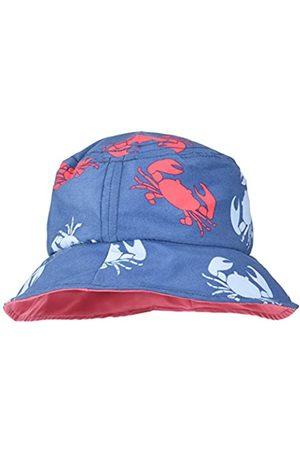 Archimède Boy's Bord de Mer Bucket Hat, Rouge (Rouge/BLEU Marine)