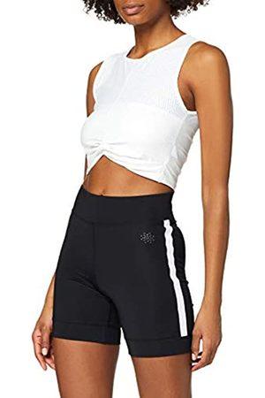 AURIQUE Amazon Brand - Women's Side Stripe Cycling Shorts, 8