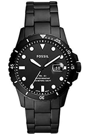 Fossil Quartz Watch with Silicone Strap FS5659