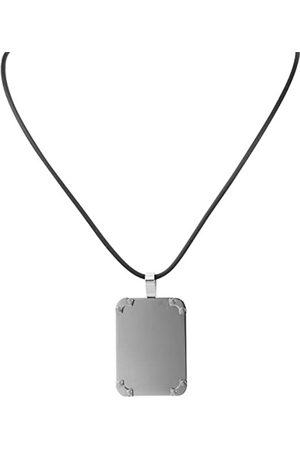 Akzent Women's Pendant Stainless Steel with Natural Rubber Cord 45 CM 002500000120