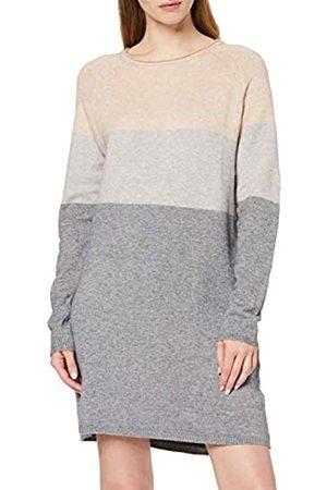 Only Women's Onllillo L/s Dress KNT Noos