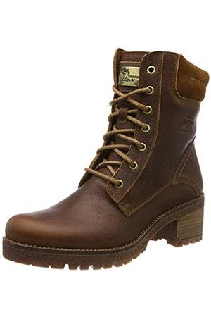 Panama Jack Women's Phoebe Combat Boots, (Cuero B10)