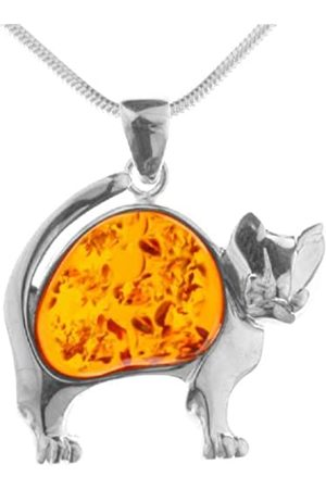 InCollections 541A203496L100 Amber Sterling 925 Necklace