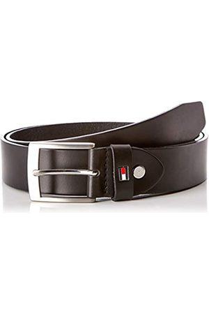 Tommy Hilfiger Men's Adan Leather Belt 3.5 Adj