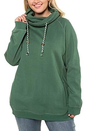 Ulla Popken Women's Moments Bügel Bh Sweatshirt