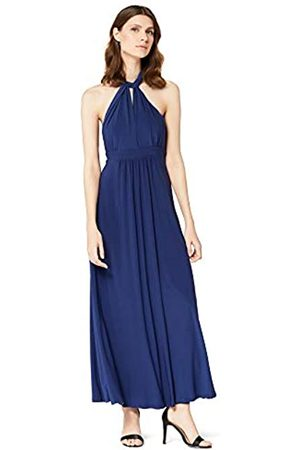 TRUTH & FABLE Amazon Brand - Women's Maxi Halter Dress, 12