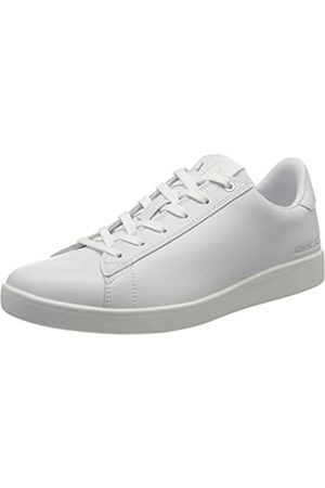 Armani Exchange Women's Box Sole Sneakers Low-Top, (Optical S0152)