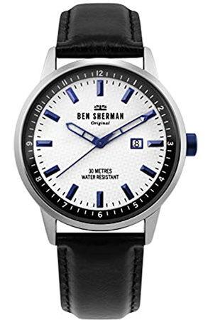 Ben Sherman Mens Analogue Classic Quartz Watch with Leather Strap WB030B