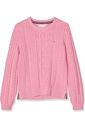Tommy Hilfiger Girl's Iconic Cable Sweater Sweatshirt