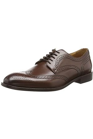 Geox Men's U SAYMORE F Brogues, (Ebony C6027)