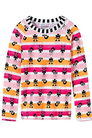 Schiesser Girl's Water Cat Bade-Shirt Cover-Up