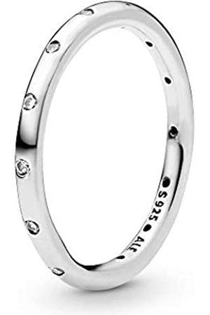 PANDORA Ladies Ring Droplet 925 Cubic Zirconia White Gr. 50 (15.9) - 190945CZ-50