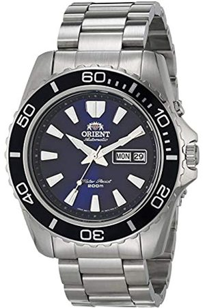 Orient Mens Analogue Automatic Watch with Stainless Steel Strap FEM75002DW