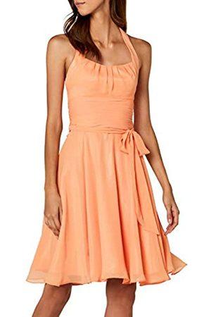 Astrapahl Womens co8002ap Knee-Length Plain Cocktail Sleeveless Dress