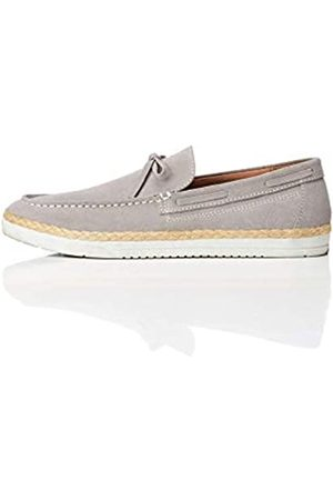 FIND Leather Espadrille Loafers