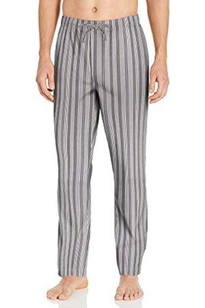 Goodthreads Stretch Poplin Pajama Pant Casual, Grey Denim Check