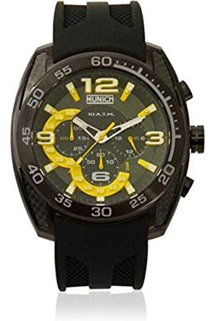 Munich Unisex Adult Analogue Quartz Watch with Rubber Strap MU+131.1C
