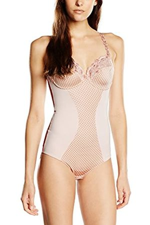 Rosa Faia Women's 3474 Checkered Shaping Bodysuit