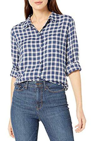 Goodthreads Modal Twill Long-sleeve Boyfriend Shirt Button