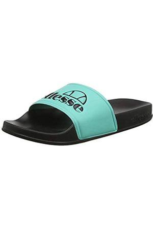 Ellesse Men's Filippo Sliders Open Toe Sandals, (Turquoise/ Trqs/Blk)