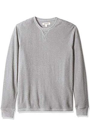 Goodthreads Amazon Brand - Men's Long-sleeve Slub Thermal Crewneck T-Shirt, (heather )