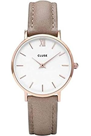 CLUSE Women's Analogue Quartz Watch with Leather Strap CL30043