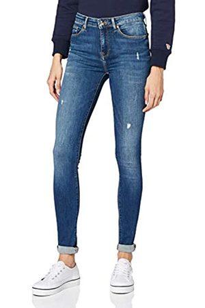 Tommy Hilfiger Women's Como Skinny RW Doran Straight Jeans