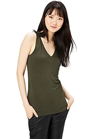 Daily Ritual Amazon Brand - Jersey V-Neck Tank T-Shirt