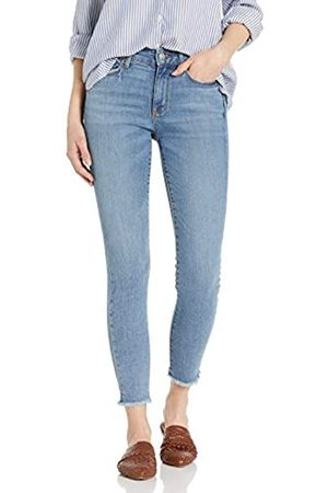 Goodthreads Mid-rise Skinny Jeans Cropped Fray Storm Wash