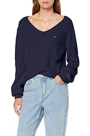 Tommy Hilfiger Women's Tjw Sleeve Detail Sweater Sweatshirt