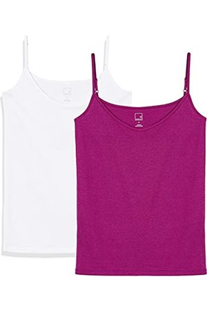 MERAKI Women's Camisole Vest, Pack of 2