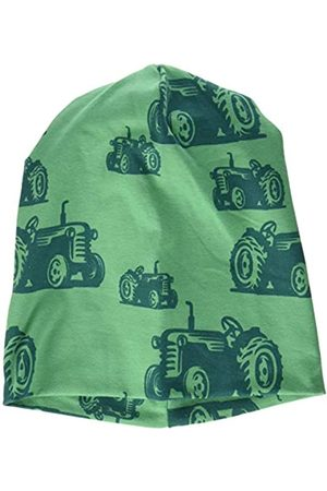 Green Cotton Boy's Farming Beanie Hat