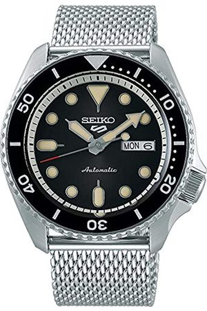 Seiko Men's Analogue Automatic Watch with Stainless Steel Strap SRPD73K1