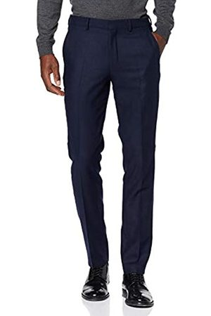 Selected Homme NOS Men's Slhslim-myloiver Dk. Trs B Noos Suit Trousers, Dark)