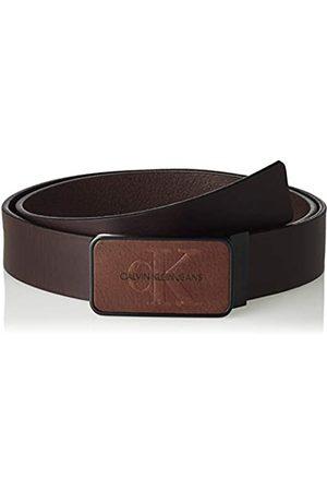 Calvin Klein Jeans Men's J 3.5cm Adj Mono Plaque Belt