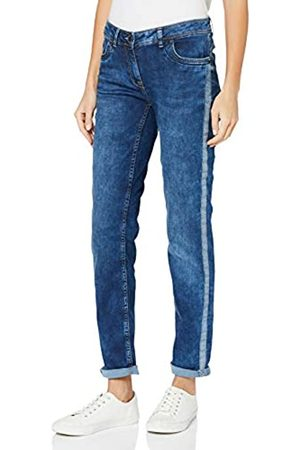Cecil Women's 372789 Charlize Slim Fit Jeans, (Mehrfarbig)
