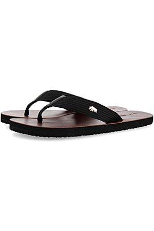 Gioseppo Men's Keynes T-Bar Sandals, (Negro Negro)