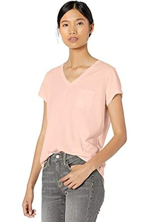 Goodthreads Washed Jersey Cotton Pocket V-neck T-shirt Soft