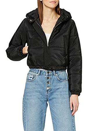 New Look Tall Women's T Cropped Hooded Puffer Jacket